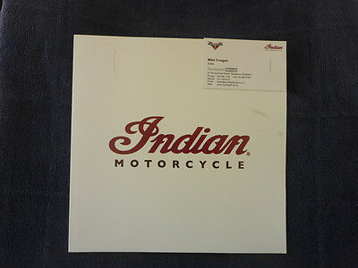 Indian Motorcycles 2015 Dealership Sales Brochure 40 Pages