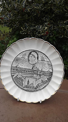 1887 Queen Victoria opens Manchester Jubilee Exhibition Plate