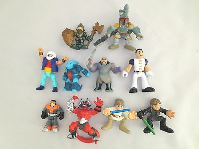 Lot of 10 Figures   Hasbro & Others    +++ D8