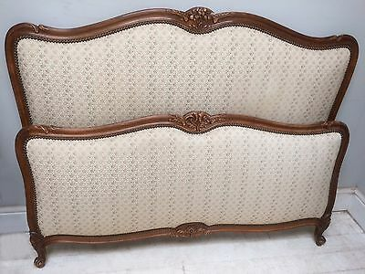 Beautiful Original Vintage French Louis Xv Style  Kingsize Bed