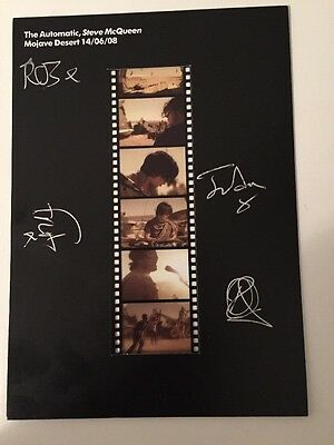 SIGNED THE AUTOMATIC: STEVE McQUEEN FILM NEGATIVES: VERY RARE