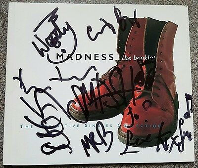 fully signed madness 'the business ' album booklet