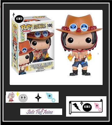 One Piece -Portgas.D.ACE  POP! Figure Funko Anime genuine