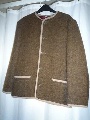 Austrian Traditional Wool Jacket 152 Cm. Unisex New