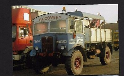 Truck Photo/print Aec Wrecker Recovery Cayton Service Station North Yorkshire