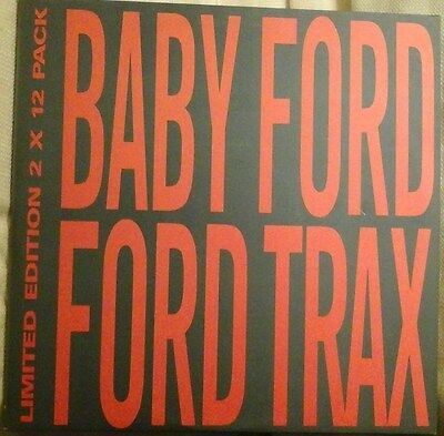 "BABY FORD - FORD TRAX LIMITED 2 X 12"" PACK ACID HOUSE ELECTRONIC 1980s NM/EX"