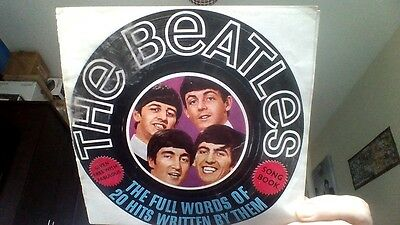 Original 1963 Beatles Song Book  - Given Free With Fabulous Magazine.