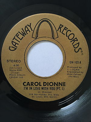 Carol Dionne, I'm In Love With You, Rare Modern Soul 45