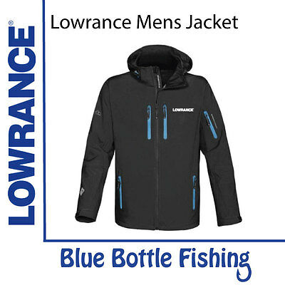 NEW Lowrance Mens Premium Stormtech Soft Shell  Jacket from Blue Bottle Fishing