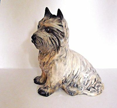 SYLVAC Pottery #3447 - DOG FIGURINE - CAIRN TERRIER Sitting - Excellent