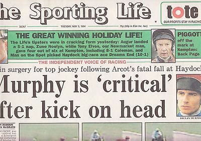 The Sporting Life Newspaper - Tuesday May 3, 1994