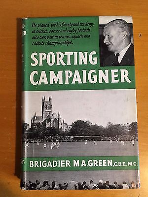 1956 Sporting Campaigner by Brigadier MA Green 1st edition vgc