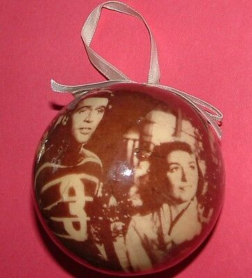 1997 Bedford Falls Christmas Ornament featuring George Bailey & Mary