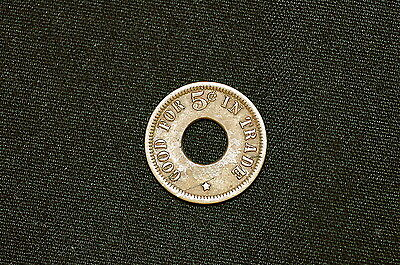 Vintage Trade Token, Good for 5 Cents in Trade