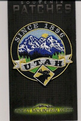 State Of Utah Souvenir Patch - Since 1896
