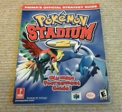 N64 Pokemon Stadium 2 Official Strategy Guide