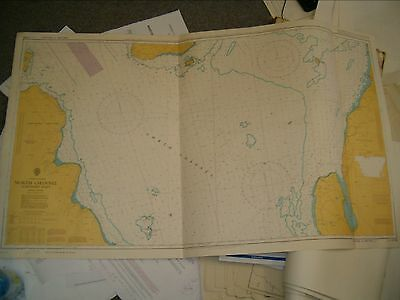 Vintage Admiralty Chart 2199 IRISH SEA - NORTH CHANNEL - NORTHERN PART 1984 edn