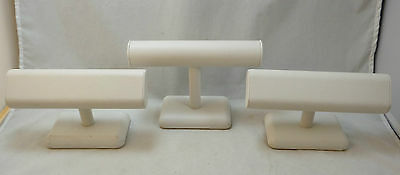 Lot of 3 Jewelry Store Bracelet, Bangle or Watch Stands