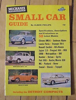 1962 Small Car Guide 144 Pages 58 Car Reviews Nice Condition