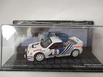 FORD RS200 Rally Car Model 1:43 scale die cast Rally Sweden 1986