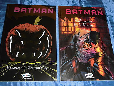 BATMAN  Band 1 + 2 , ehapa Comic Collection , 1. Auflage 1992 , DC Comics