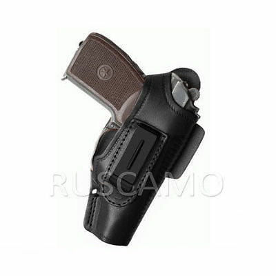 Holster for PM (Makarov) universal (IWB or OWB) Black
