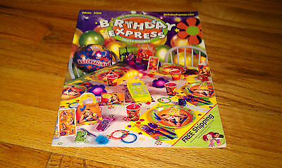 The Original Childrens BIRTHDAY EXPRESS Party Sources Winter 2004 Catalog Mail