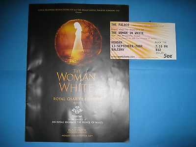 The Woman in White Premier Brochure & Tickets