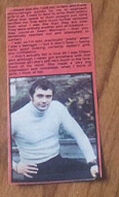 Lewis Collins Bodie Professionals talks about his shyness with girls
