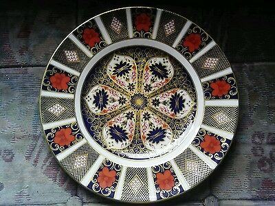 """Royal Crown Derby 1128 Old Imari 10 1/2"""" Inch Plate .Lovely"""
