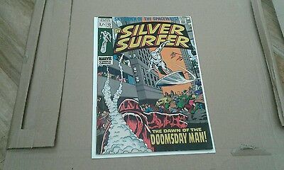 Silver Surfer Issue 13 From 1970 . Silver Age Marvel,bagged and boarded.