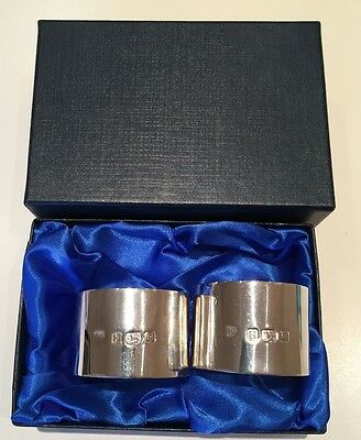 Antique silver napkin rings (c. 1943)
