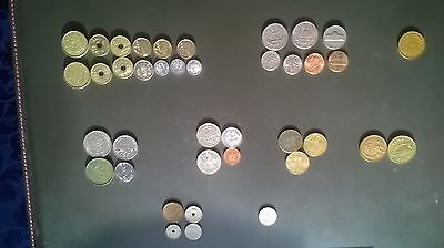 Small Collection of mostly European  Pre Euro Coins.