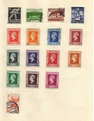 Stamps from Netherlands, 1943 Sea Heroes and 1944 Liberation