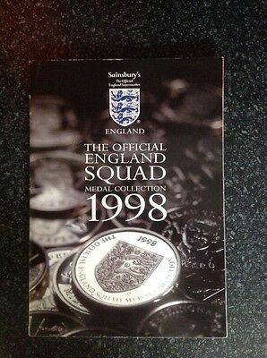 Sainsbury's 1998 France World Cup Coin Collection - Completed Book