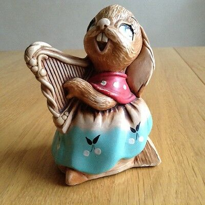 "PenDelfin Vintage "" Megan The Harp"" Rabbit"