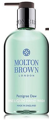 Molton Brown Pettigree Dew Fine Liquid Hand Wash With Pump 300ml NEW Mothers Day