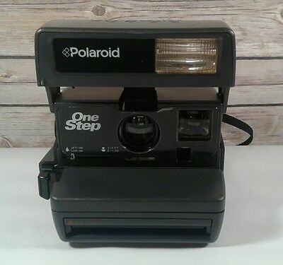 Polaroid One Step 600 Instant Camera *Film Tested, Works Great*