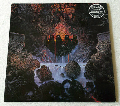 Entombed - Clandestine LP 1992 Embossed Cover Original Earache Limited Dismember