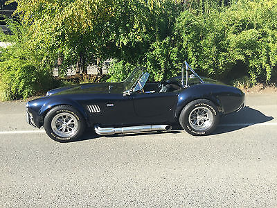 1965 Shelby Replica 427 Side Oiler 1965 Cobra Replica with Real 427 Side Oiler motor and NASCAR 4 speed Toploader