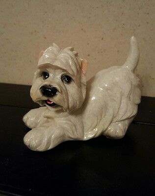 ☆☆Westie / West Highland Terrier White Dog Figurine Ornament☆☆