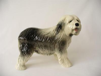 Vintage Coopercraft Old English Sheepdog, Dog  Figurine