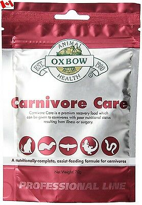 Oxbow Carnivore Care Pet Supplement 70 gram Canada Shipped