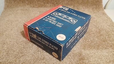 Vintage Nos Am/fm Mpx In Dash Car 8 Track Stereo / Player