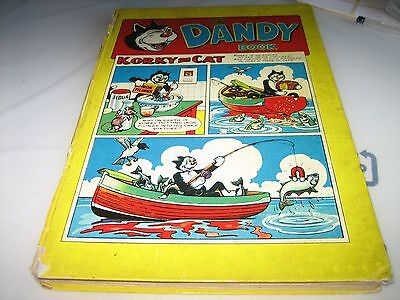 The Dandy Book Annual 1958. Vintage, Rare. My ref K2