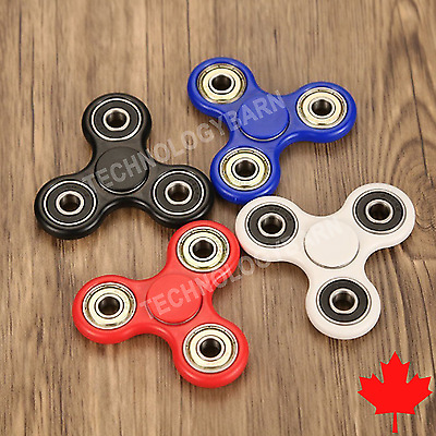 Hand Spinner Tri Fidget Spinner Focus Toy Stress Relief For Adults Kids