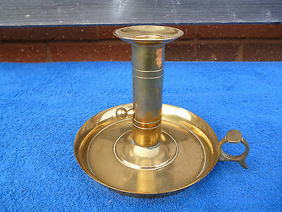 Heavy Quality Brass Adjustable Vintage Chamber Stick,