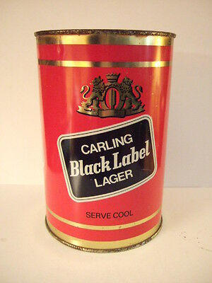 Large Carling Black Label beer can 2.22 Litres 3.9 pints Limited Burton on Trent