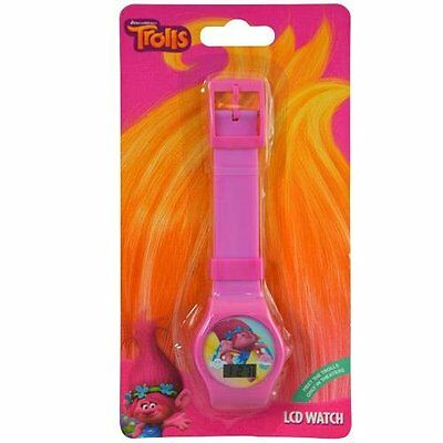 Party Favors DreamWorks Trolls Digital Watch with Printed Band on Blister Card