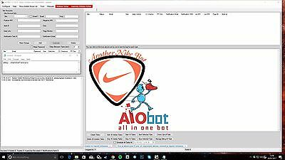 "ANB AIO Bot For LATEST Palace Yeezy & More! April ""Triple White"" YZY!! U.K + US"